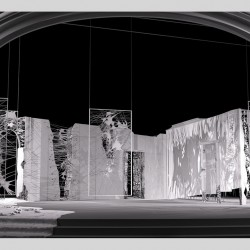 scenografia teatralna - wizualizacja
