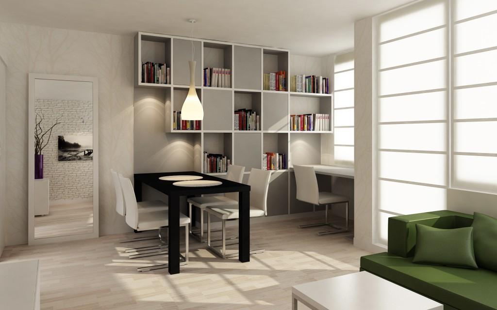 projekt wnętrza mieszkania w bloku