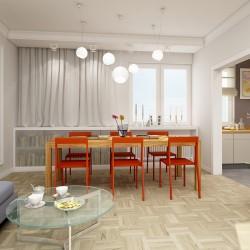 salon z jadalnia